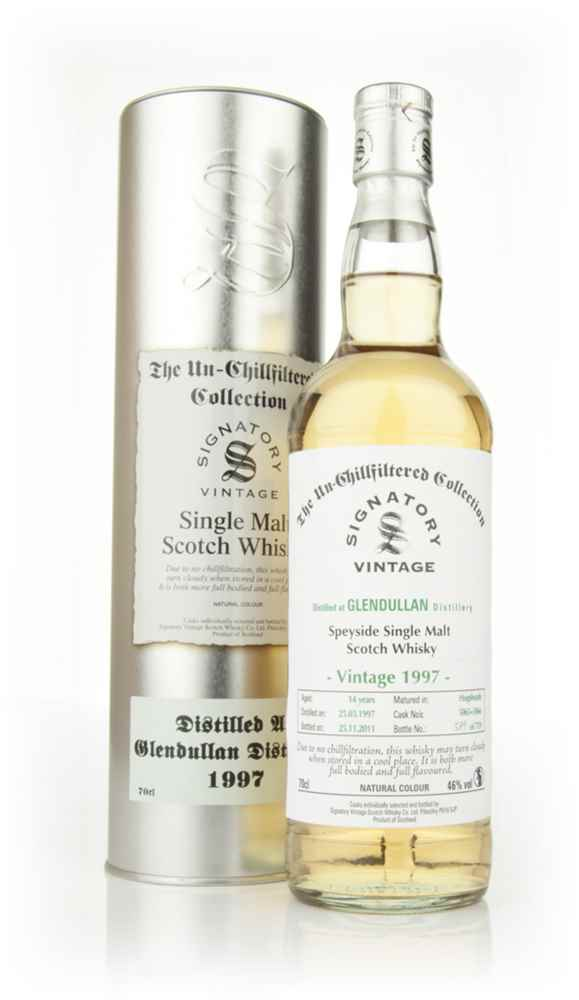 Glendullan 14 Year Old 1997 - Un-Chillfiltered (Signatory)