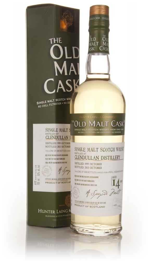Glendullan 14 Year Old 1999 (cask 10124) - Old Malt Cask (Hunter Laing)