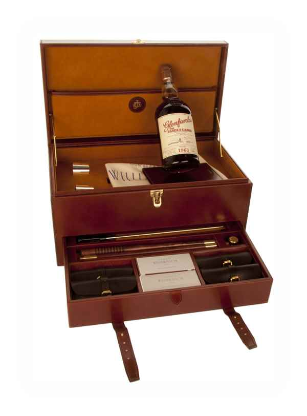 Glenfarclas 1963 Family Cask Release X - Shotgun and Rifle Cleaning Kit