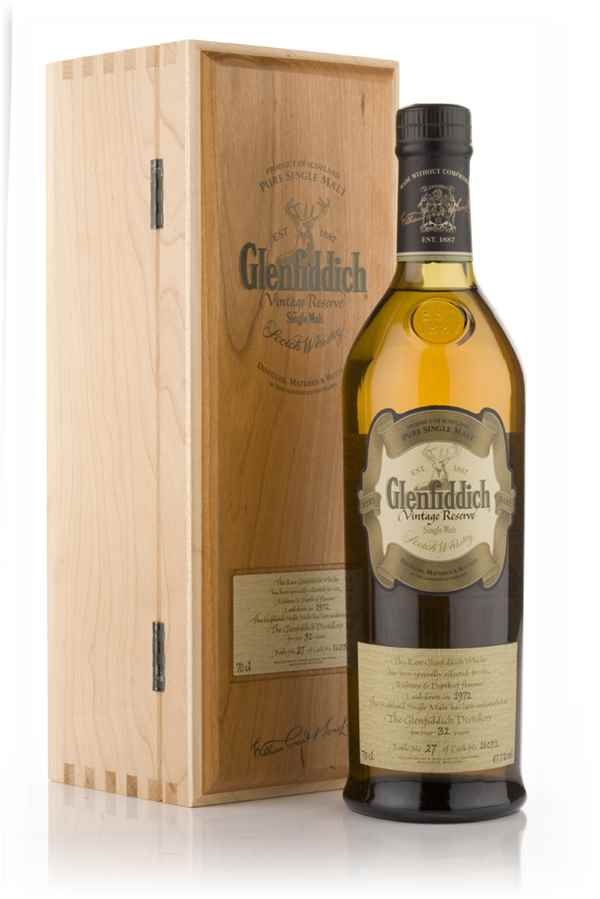 Glenfiddich 33 Year Old 1972 - Vintage Reserve