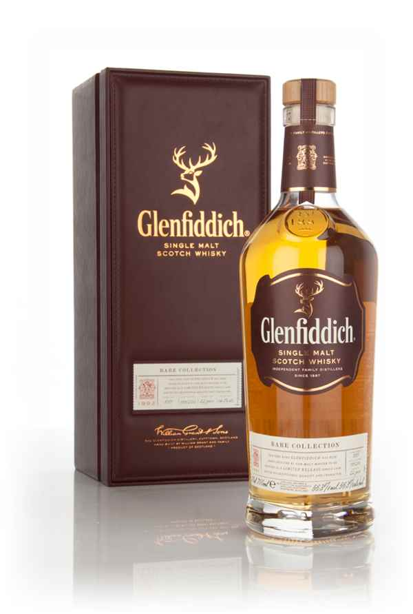 Glenfiddich 22 Year Old 1992 (cask 8387) - Rare Collection