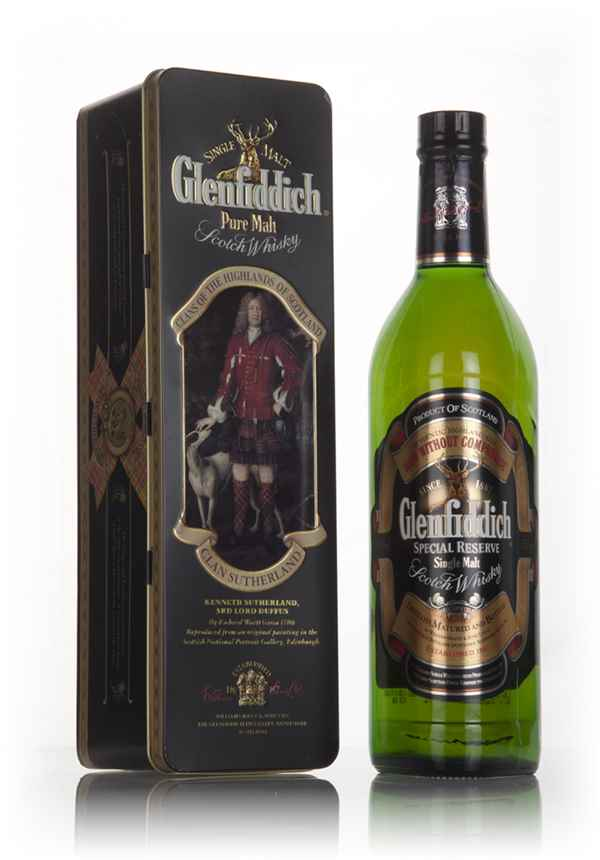 "Glenfiddich ""Clan Sutherland"" - Clans of the Highlands - 1990s"