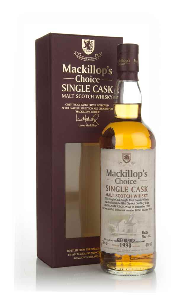 Glen Garioch 20 Year Old 1990 - Mackillop's Choice