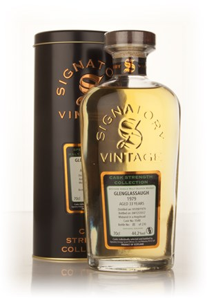 Glenglassaugh 33 Year Old 1979 (cask 1548) - Cask Strength Collection (Signatory)