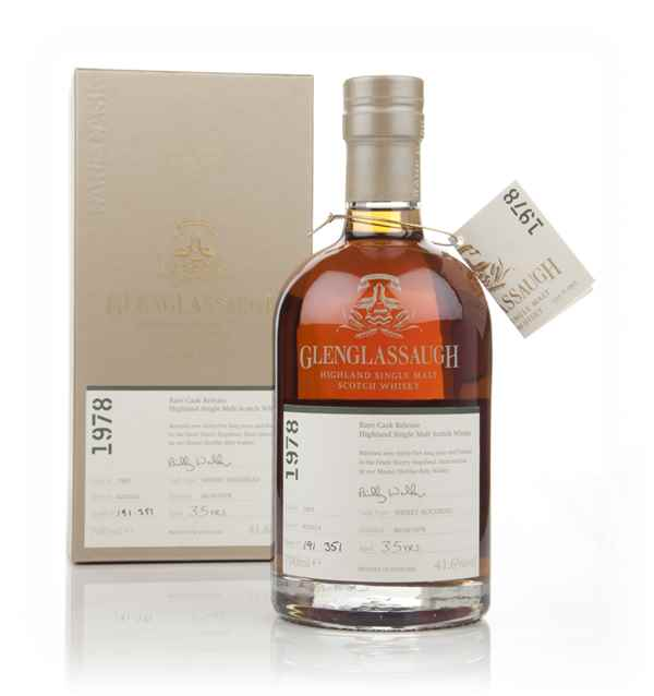 Glenglassaugh 35 Year Old 1978 (cask 1803) - Rare Cask Release Batch 1