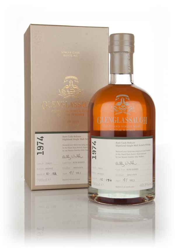 Glenglassaugh 41 Year Old 1974 (cask 1282/1) - Rare Cask Release Batch 2