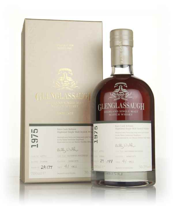 Glenglassaugh 41 Year Old 1975 (cask 1227-1) - Rare Cask Release Batch 3