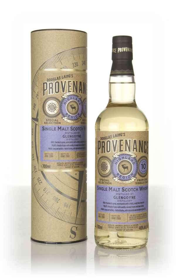 Glengoyne 10 Year Old 2008 (cask 12600) - Provenance (Douglas Laing)