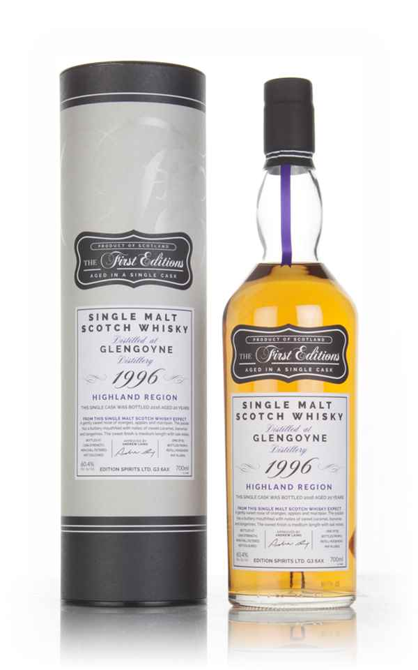 Glengoyne 20 Year Old 1996 (cask 12825) - The First Edition (Hunter Laing)