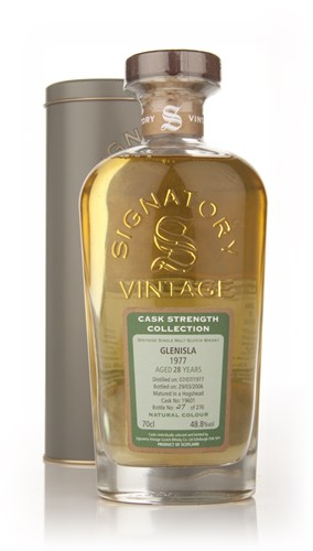 Glenisla 28 Year Old 1977 - Cask Strength Collection (Signatory)