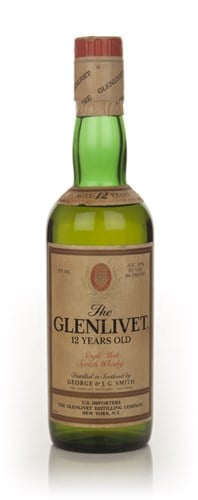 Glenlivet 12 Year Old - 1970s (37.5cl)