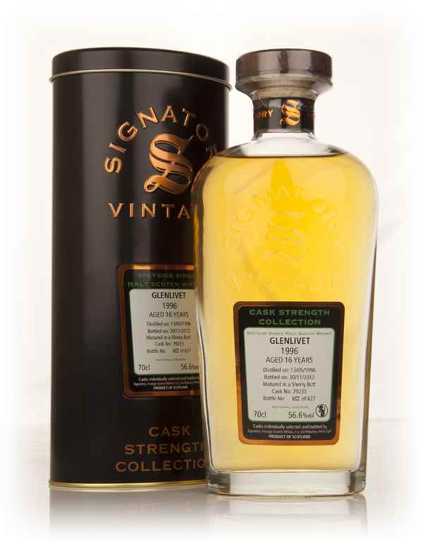Glenlivet 16 Year Old 1996 (cask 79235) - Cask Strength Collection (Signatory)