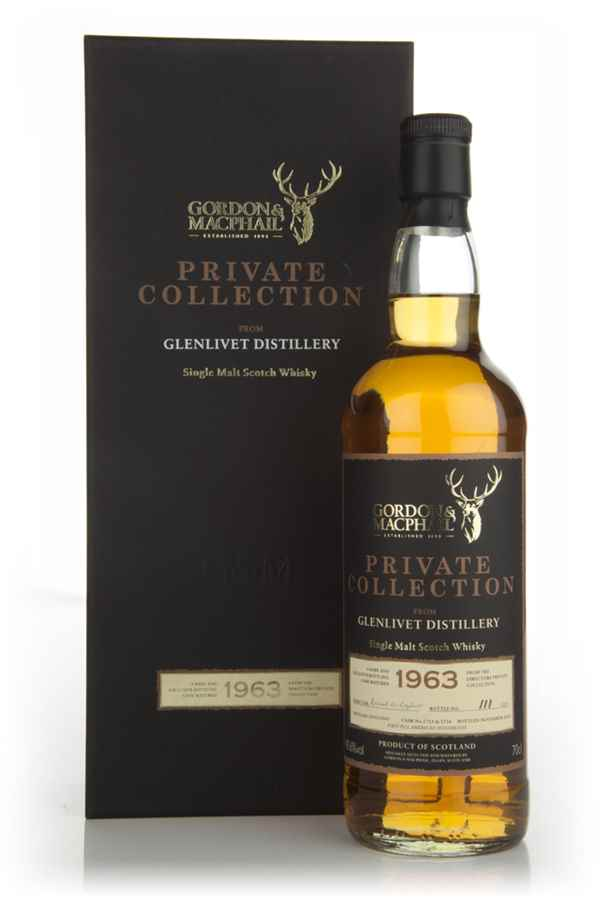 Glenlivet 1963 - Private Collection (Gordon & MacPhail)