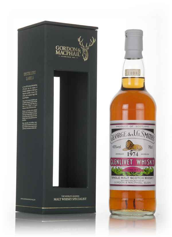 Smith's Glenlivet 1974 (bottled 2008) - Gordon & MacPhail