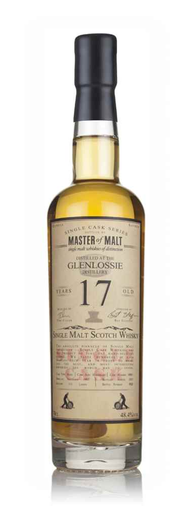 Glenlossie 17 Year Old 1997 - Single Cask (Master of Malt)