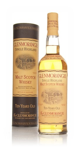 Glenmorangie 10 Year Old (Old Bottling) - Signed by the Sixteen Men of Tain