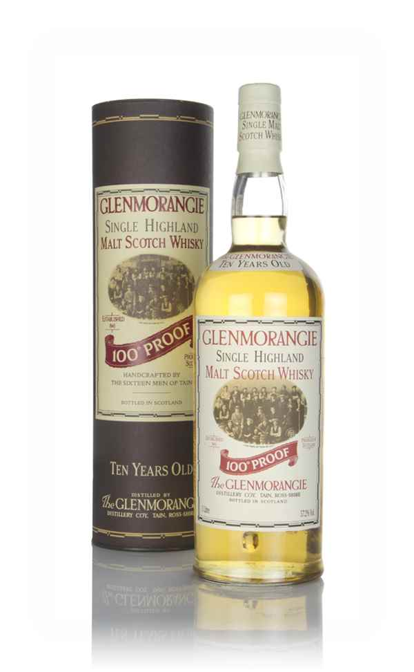 Glenmorangie 10 Year Old 100° Proof (1L) (Old Bottling)