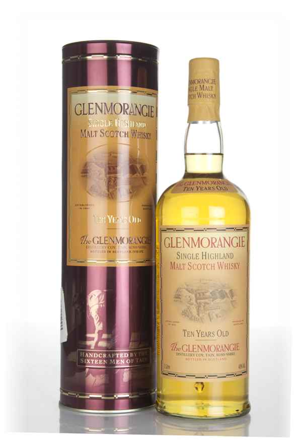 Glenmorangie 10 Year Old (1L) (Old Bottling) (with Presentation Tin)
