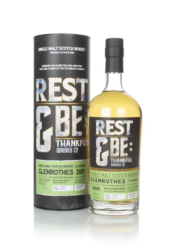 Glenrothes 10 Year Old 2009 (cask 7707) - Rest & Be Thankful