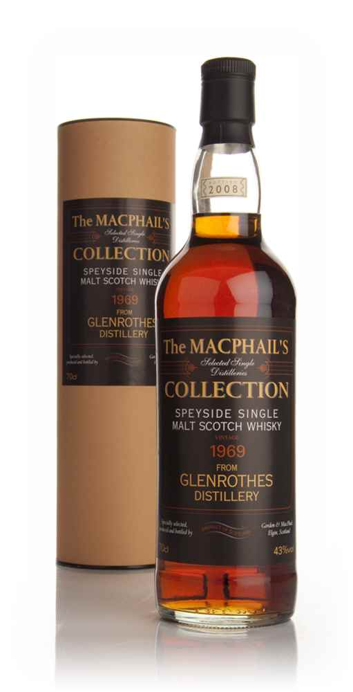 Glenrothes 1969 (bottled 2008) - The MacPhail's Collection (Gordon and MacPhail)