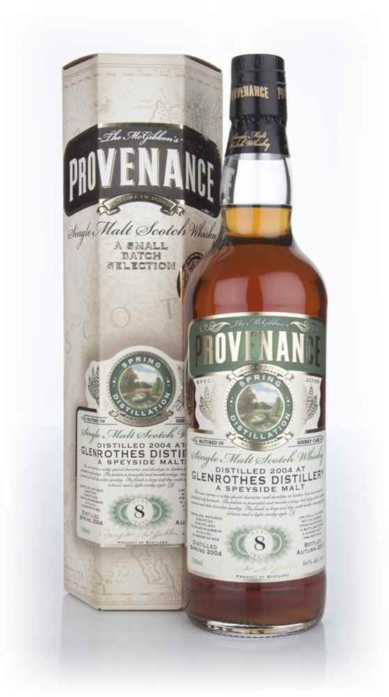 Glenrothes 8 Year Old 2004 (cask 9212) - Provenance (Douglas Laing)