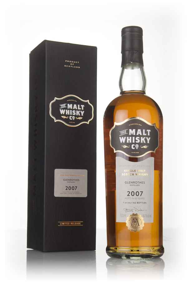 Glenrothes 8 Year Old 2007 (The Malt Whisky Company)