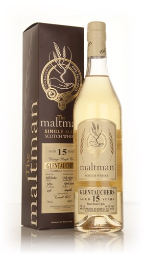Glentauchers 15 Year Old 1997 (cask 3854) (The Maltman)