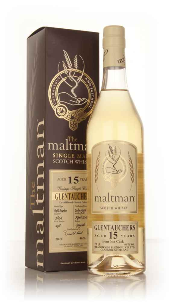 Glentauchers 15 Year Old 1997 (cask 3854) - The Maltman