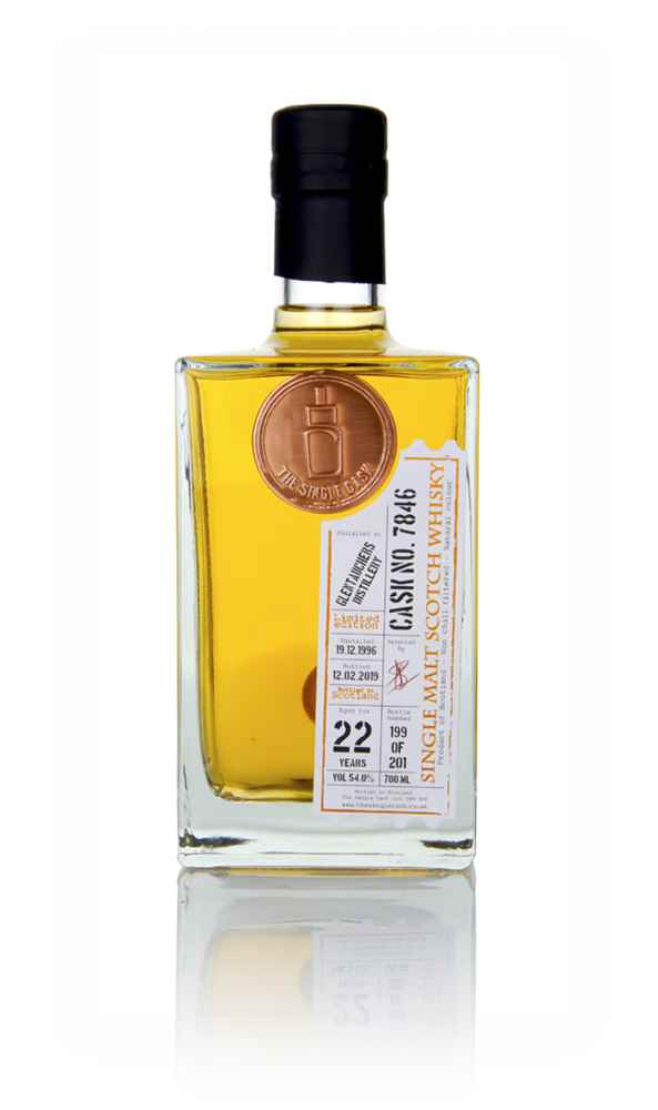 Glentauchers 22 Year Old 1996 (cask 7846) - The Single Cask