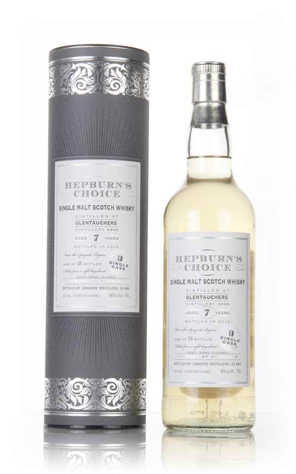 Glentauchers 7 Year Old 2009 - Hepburn's Choice (Langside)