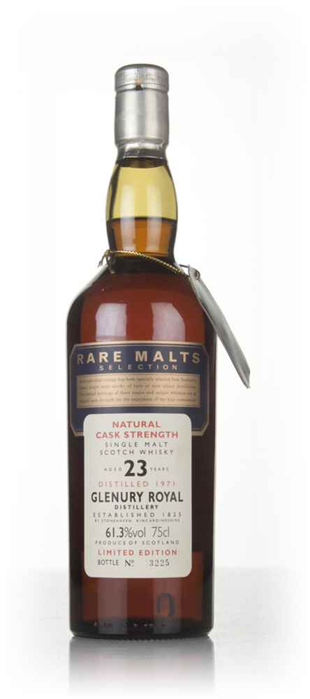 Glenury Royal 23 Year Old 1971 - Rare Malts