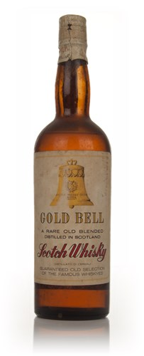 Gold Bell Blended Scotch Whisky - 1960s