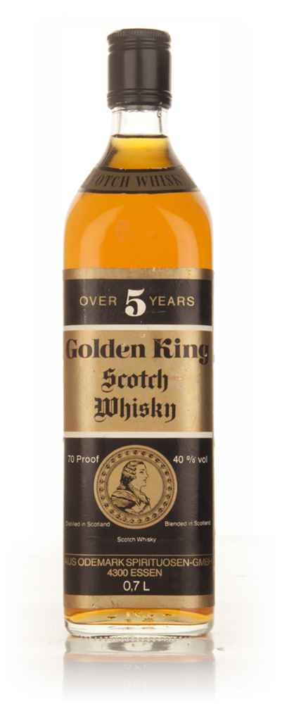 Golden King 5 Year Old Scotch Whisky - 1970s