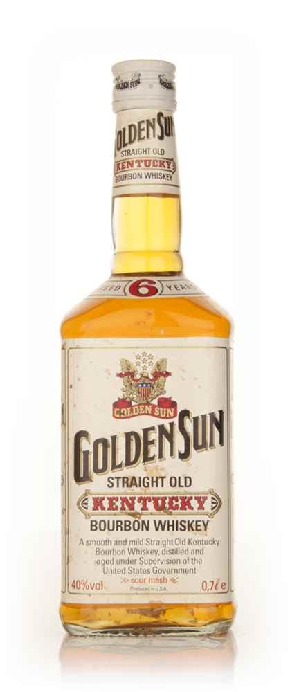 Golden Sun 6 Year Old Bourbon - 2000s