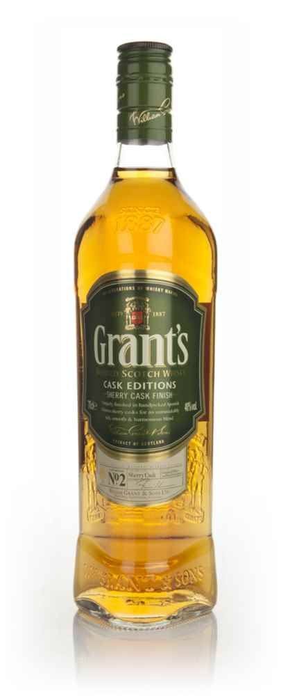 Grant's Cask Editions - Sherry Cask Finish