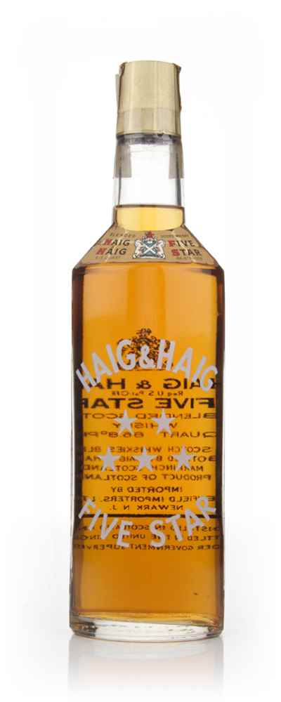 Haig & Haig Five Star - 1970s