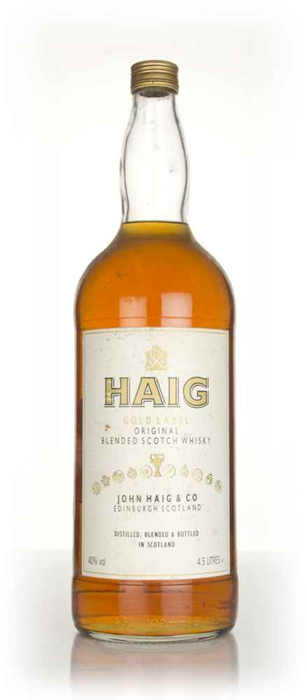 Haig Gold Label (4.5L) - 1990s