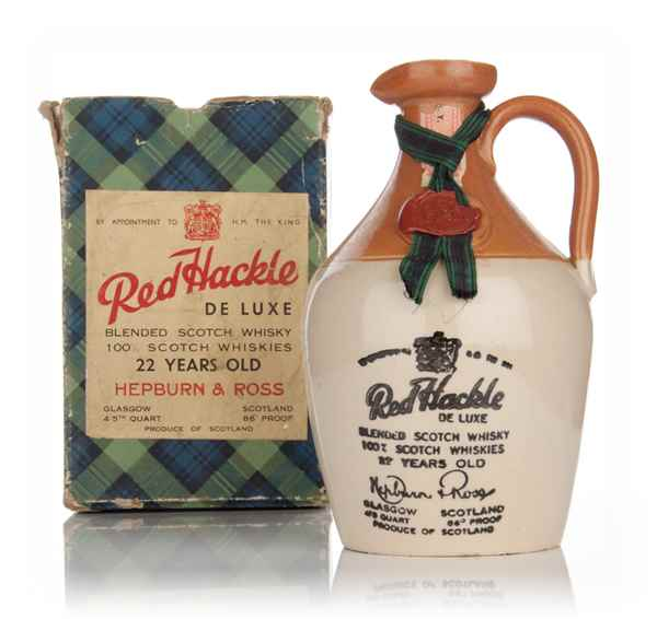 Red Hackle 22 Year Old de Luxe - 1936-52