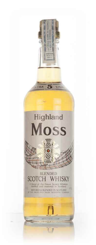 Highland Moss 5 Year Old - 1970s