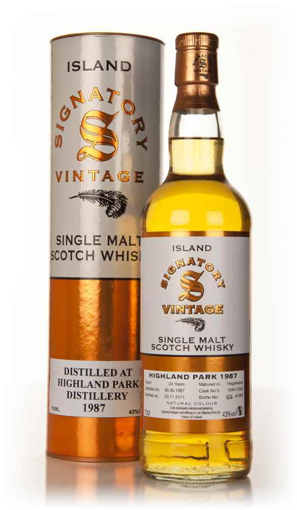 Highland Park 24 Year Old 1987 (Signatory)