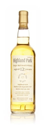 Highland Park 12 Year Old 1997 Cask 6258 (Bladnoch)