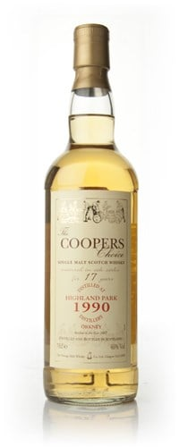 Highland Park 17 Year Old 1990 - The Coopers Choice (The Vintage Malt Whisky Co.)