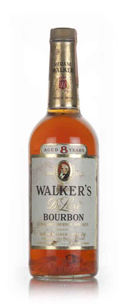 Hiram Walker's 8 Year Old Bourbon - 1970s