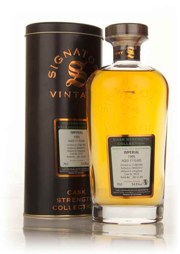 Imperial 17 Year Old 1995 (cask 50131) - Cask Strength Collection (Signatory)
