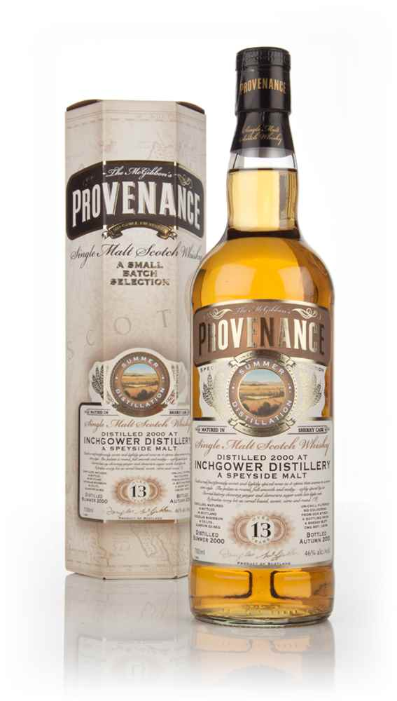 Inchgower 13 Year Old 2000 (cask 10078) - Provenance (Douglas Laing)