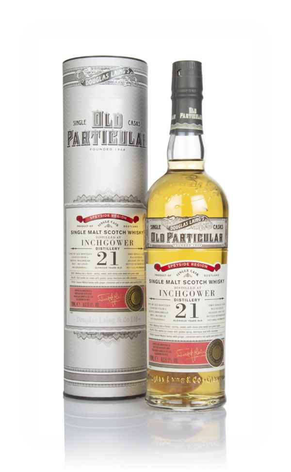 Inchgower 21 Year Old 1997 (cask 12818) - Old Particular (Douglas Laing)