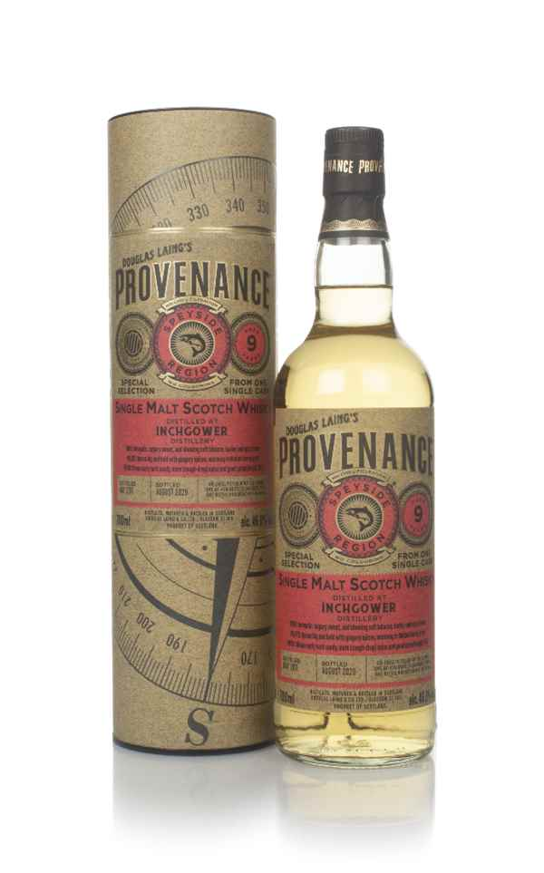 Inchgower 9 Year Old 2011 (cask 14295) - Provenance (Douglas Laing)