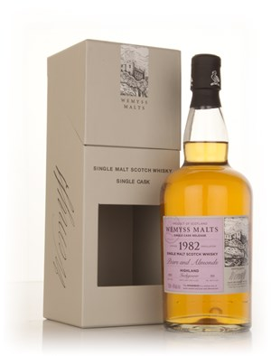 Pears & Almonds 1982 - Wemyss Malts (Inchgower)