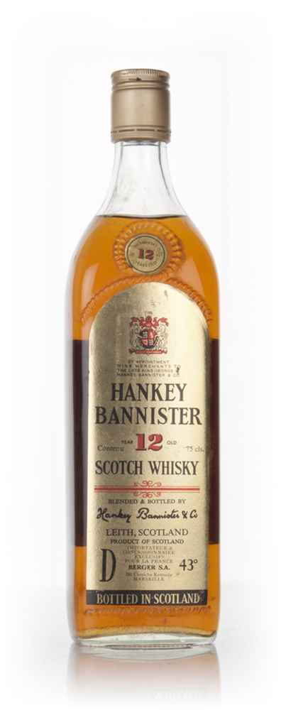 Hankey Bannister 12 Year Old - 1970s