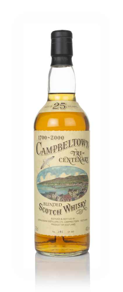 Campbeltown 25 Year Old Tri-Centenary